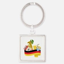 Germany country Keychains