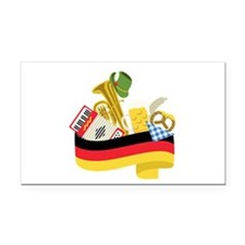 Germany country Rectangle Car Magnet