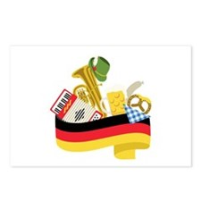 Germany country Postcards (Package of 8)