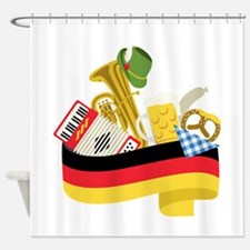 Germany country Shower Curtain