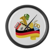 Germany country Large Wall Clock