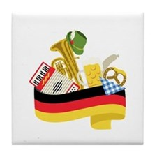 Germany country Tile Coaster
