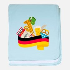 Germany country baby blanket