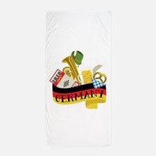 Germany Beach Towel