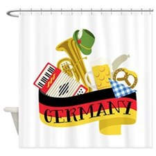 Germany Shower Curtain