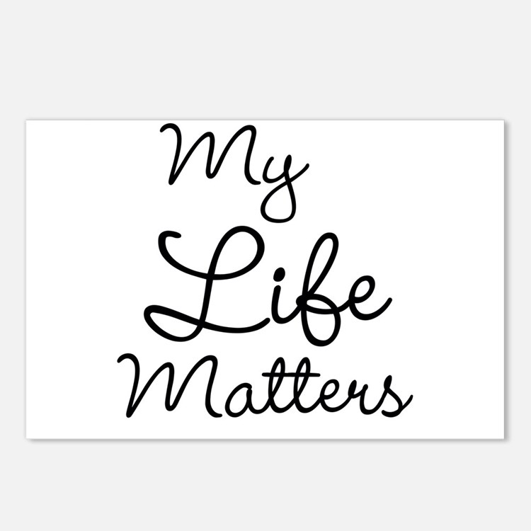 My Life Matters Postcards (Package of 8)