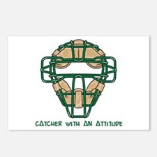 Catcher with an Attitude Postcards (Package of 8)