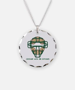 Catcher with an Attitude Necklace