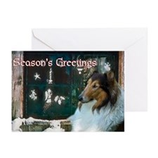 Collie Christmas Greeting Cards (Pk of 20)