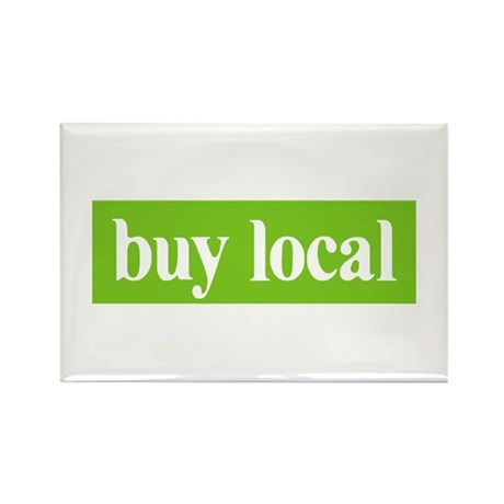 Buy Local Rectangle Magnet