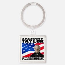 12 Taylor Square Keychain