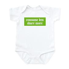 Consume less Share more Infant Bodysuit