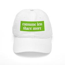 Consume less Share more Baseball Cap