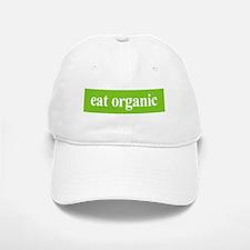 Eat Organic Baseball Baseball Cap