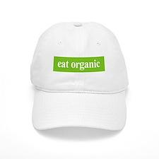 Eat Organic Baseball Cap