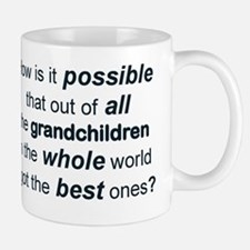 THE BEST GRANDCHILDREN IN THE WHOLE WOR Mug