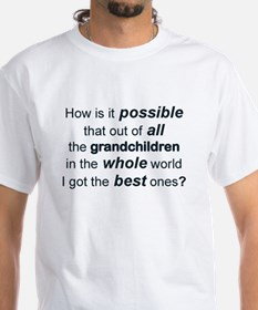 THE BEST GRANDCHILDREN IN THE WHOLE WORLD T-Shirt