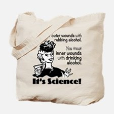 Drinking Alcohol Tote Bag