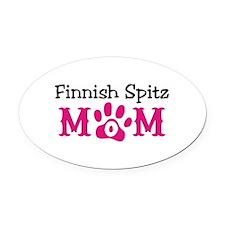 Finnish Spitz Oval Car Magnet