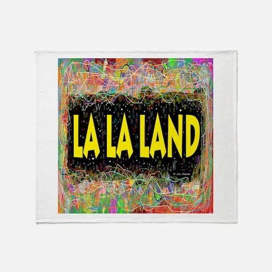 La La Land Throw Blanket