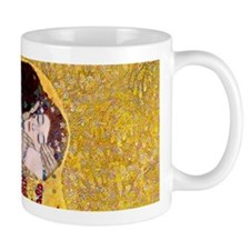 Klimt 'The Kiss' Lovers Mugs