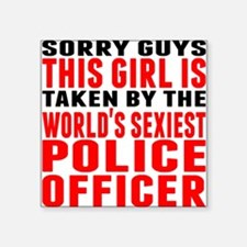 Taken By The Worlds Sexiest Police Officer Sticker