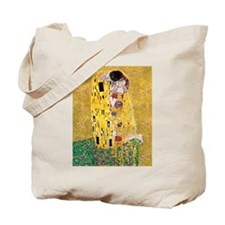 Klimt 'The Kiss' Lovers Tote Bag