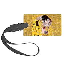 Klimt 'The Kiss' Lovers Luggage Tag