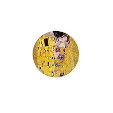 Klimt 'The Kiss' Lovers Mini Button (100 pack)