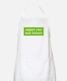 Support your local farmers BBQ Apron