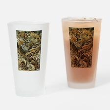 Vintage Lizards, Lacertilia Drinking Glass