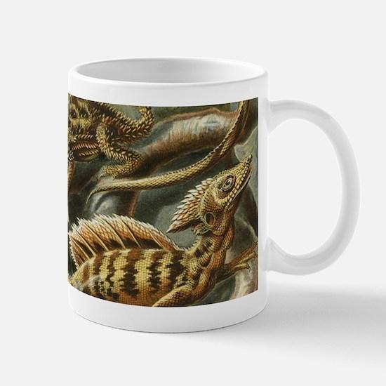 Vintage Lizards, Lacertilia Mugs