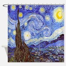 Starry Night Van Gogh Shower Curtain