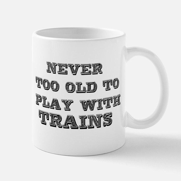 play with trains Mug