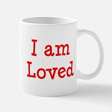 i am loved Mug