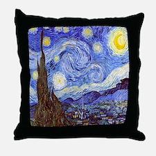 Starry Night Van Gogh Throw Pillow