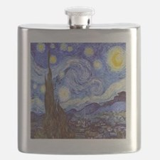 Starry Night Van Gogh Flask