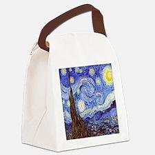 Starry Night Van Gogh Canvas Lunch Bag