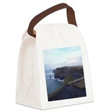 Cute Cliffs of moher Canvas Lunch Bag