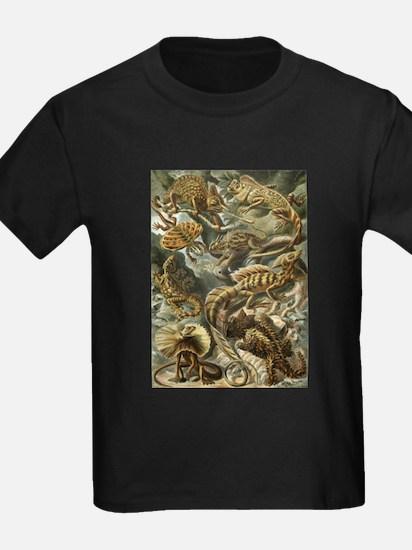 Vintage Lizards, Lacertilia T-Shirt