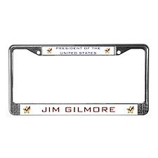 Jim Gilmore President USA License Plate Frame