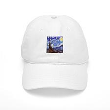 Starry Night Van Gogh Baseball Cap