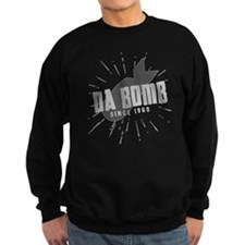 Birthday Born 1960 Da Bomb Sweatshirt
