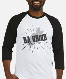 Birthday Born 1960 Da Bomb Baseball Jersey