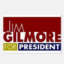 Jim Gilmore for Presiden Postcards (Package of 8)