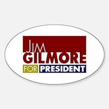 Jim Gilmore for President V1 Decal