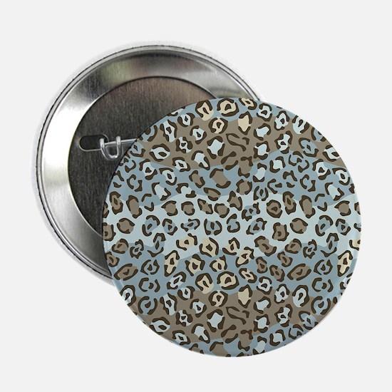 """Leopard Spots 2.25"""" Button (10 pack)"""