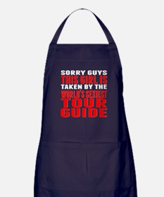 Taken By The Worlds Sexiest Tour Guide Apron (dark