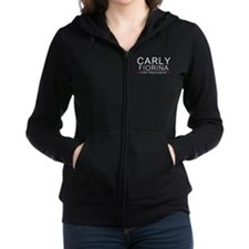 Carly for President Women's Zip Hoodie
