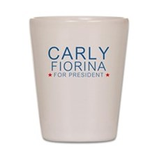 Carly for President Shot Glass